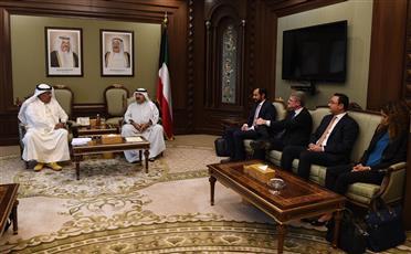 النائب الأول يلتقي الفريق الاستشاري العالمي لـ «تطوير الحكومة»
