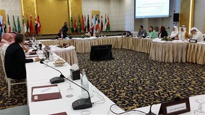 جانب من اليوم الختامي لمؤتمر وزراء الثقافة والسياحة العرب