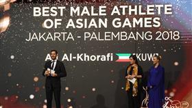 الفارس على الخرافي أفضل رياضي في آسيا
