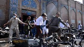 مجزرة في مسجد بأفغانستان.. و62 شهيدًا