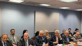 د.خالد مهدي خلال عرض حول رؤية (كويت جديدة 2035)