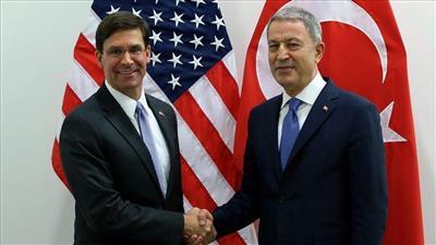 وزير الدفاع الأمريكي يبحث هاتفيا مع نظيره التركي الوضع بشمال سوريا