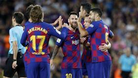 ترتيب الدوري الإسباني بعد فوز نادي برشلونة على إيبار