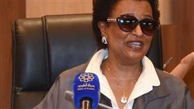 رئيسة اللجنة المنظمة العليا للدورة الشيخة نعيمة الاحمد الصباح