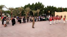 الفرقة النحاسية التابعة لوزارة الدفاع أحيت احتفالية عودة الأمير بفيلكا