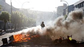 رئيس تشيلي تعليقاً على الاحتجاجات العنيفة: «نحن في حرب»
