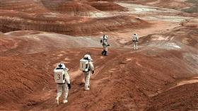 صورة تعبيرية لسطح المريخ