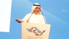 استشاري طب العائلة الكويتي والباحث في مجال التنمية البشرية الدكتور احمد الكندري يلقي محاضرته في قمة (أقدر) العالمية في ابوظبي
