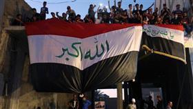 آلاف العراقيين يتوافدون لساحة التحرير رفضًا لخطاب برهم صالح
