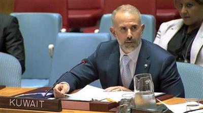 السكرتير الأول بوفد الكويت الدائم لدى الامم المتحدة