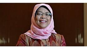 رئيسة سنغافورة تصل إلى البلاد.. اليوم