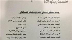 انتخاب أعضاء مجلس إدارة جمعية الدسمة وبنيد القار التعاونية