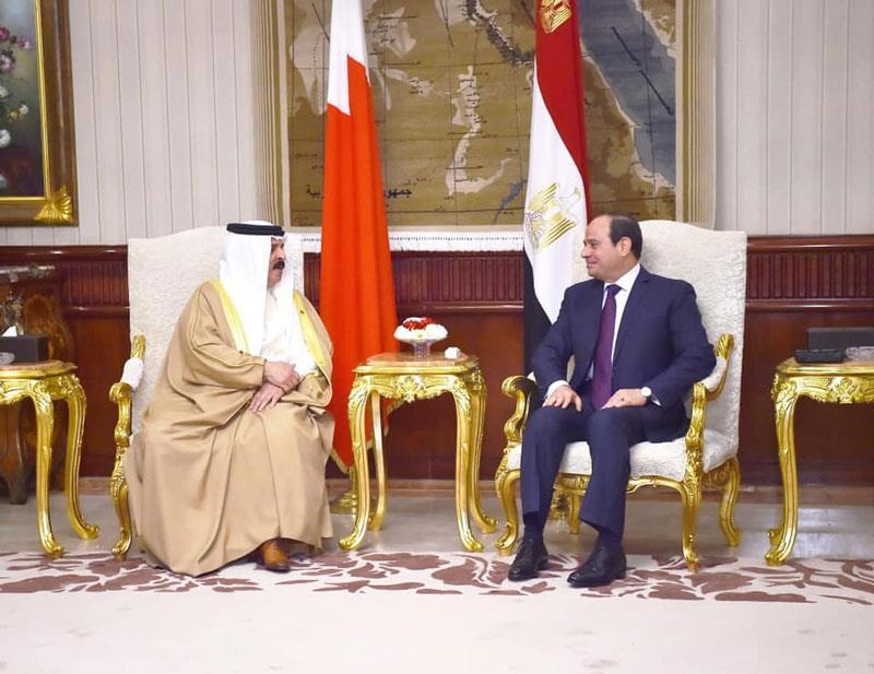 نتيجة بحث الصور عن السيسي لملك البحرين: أمن الخليج جزء لا يتجزأ من أمن مصر القومي