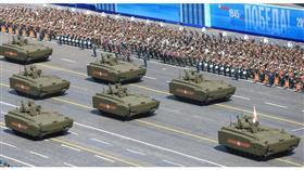 عرض عسكري سابق في موسكو