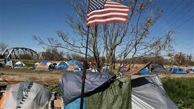 لاس فيغاس تعاقب المشردين على النوم بالطرقات