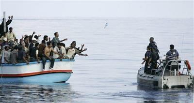البحرية التونسية تنقذ 74 مهاجرا تونسيا في المتوسط