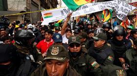احتفالات في بوليفيا بعد إعلان الرئيس موراليس استقالته
