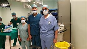 إجراء أول عملية ماء أبيض في مستشفى جابر