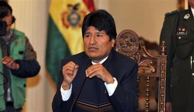 hلرئيس البوليفي السابق إيفو موراليس