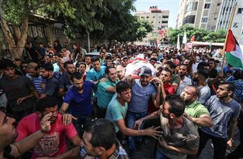 استشهاد 7 فلسطينيين خلال تصعيد الاحتلال على غزة