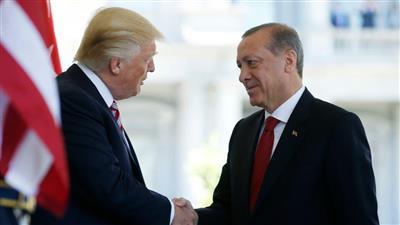 أردوغان يلتقي ترمب في واشنطن