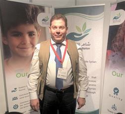 رئيس مؤسسة شام الإنسانية مهند عثمان