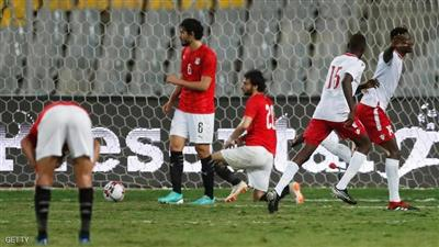 فشل منتخب مصر في تحقيق الانتصار في بداية مشواره الأفريقي