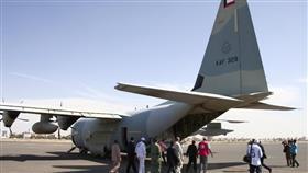 طائرة المساعدات الكويتية
