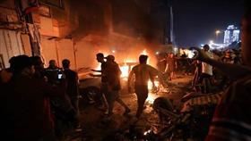 انفجار ساحة «التحرير» ببغداد