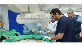 المطيري: معاينة وعلاج 70 مريض وإجراء القسطرة لـ 14 حالة