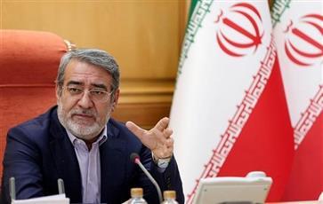 وزير الداخلية الإيراني: قوات الأمن تمارس ضبط النفس حتى الآن