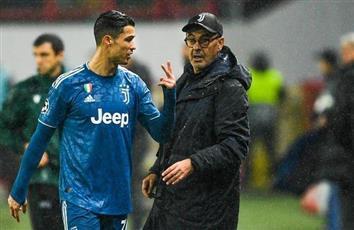 رونالدو يعلق على أزمته مع ساري