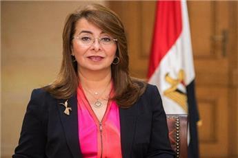 وزيرة التضامن الاجتماعي المصرية غادة والي