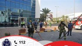 «الإطفاء» أجرت تمرينين في الجامعة العربية ومحطة وقود