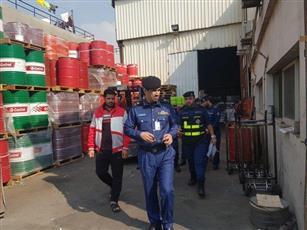 «الإطفاء»: حملة تفتيش مفاجئ على مصانع تكرير السوائل الإشتعالية