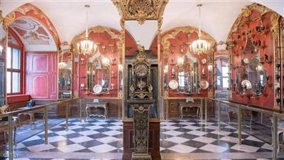 إحدى الغرف التاريخية التي تمت سرقتها في المتحف