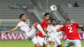 جانب من مباراة الإمارات واليمن