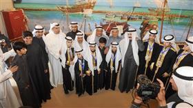 افتتاح مهرجان الموروث الشعبي الخليجي السادس