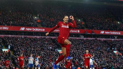 فان دايك يهدي ليفربول فوزا ثمينا