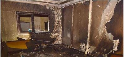 إخماد حريق شقة بعمارة في منطقة حولي دون وقوع إصابات