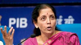 وزير المالية الهندية نيرمالا سيتارامان