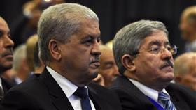 رئيسا الوزراء السابقان عبد المالك سلال وأحمد أويحيى