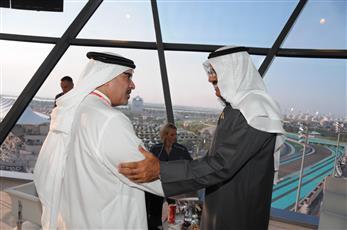 ممثل سمو ولي العهد يشيد باستضافة الإمارات الفعاليات الرياضية العالمية