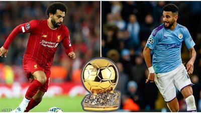صلاح ومحرز مثلا العرب بقائمة الكرة الذهبية