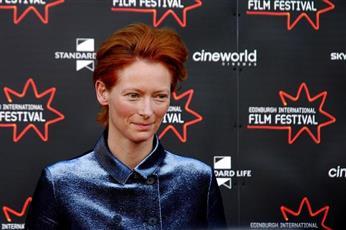 الممثلة البريطانية تيلدا سوينتون: السينما أكبر من أي حركات اجتماعية أو سياسية