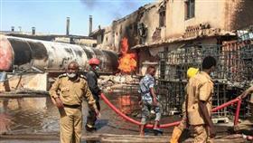 السودان.. 23 قتيلا و130 مصابا في حريق مصنع بالخرطوم