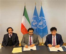 «فاو» توقع اتفاقية لفتح مكتب دائم للشراكة بالكويت