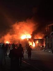حرق القنصلية الإيرانية في النجف.. للمرة الثالثة