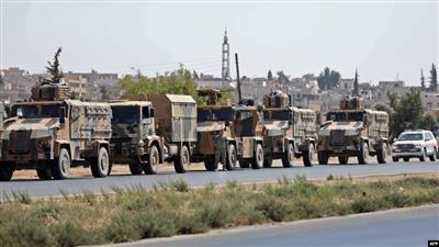 قتلى وجرحى بانفجار استهدف رتلا عسكريا تركيا بسوريا
