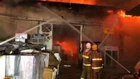 خسائر حريق «الري» كبيرة.. وبفعل فاعل